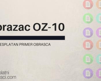 Obrazac oz-10
